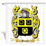 Brosel Shower Curtain