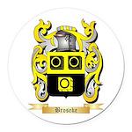 Broseke Round Car Magnet
