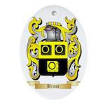 Brose Ornament (Oval)