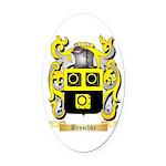 Broschke Oval Car Magnet