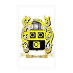 Broschke Sticker (Rectangle)