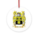 Broschke Ornament (Round)