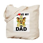 Tote Bag - Dad - Yorkie