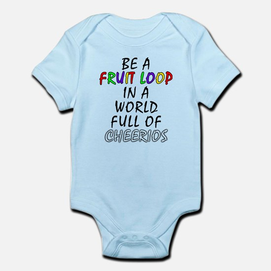 Fruit Loop in A World of Cheerios Funny Body Suit