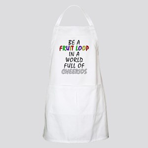 Fruit Loop in A World of Cheerios Funny Apron