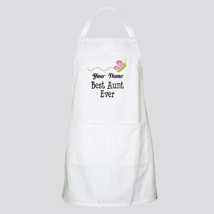 Personalized Best Aunt Apron