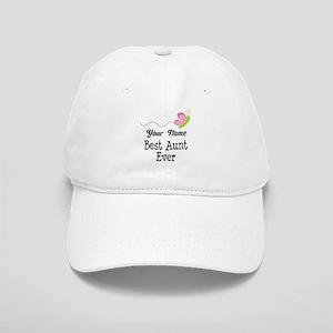 Personalized Best Aunt Cap
