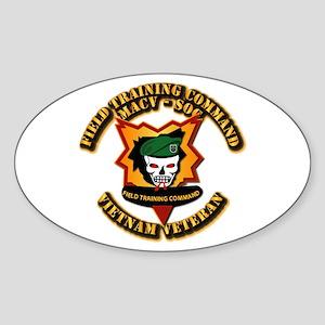 Army - SOF - MACV - SOG - Field Tng Cmd Sticker (O