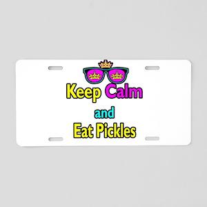 Crown Sunglasses Keep Calm And Eat Pickles Aluminu