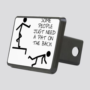 A Pat On The Back Funny T-Shirt Hitch Cover