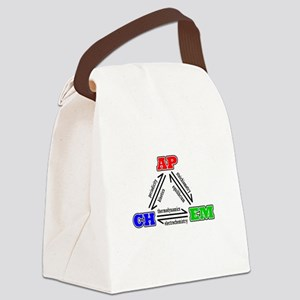 APCHEM three states tshirt Canvas Lunch Bag