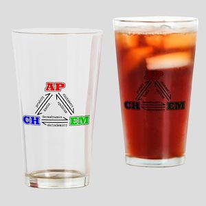 APCHEM three states tshirt Drinking Glass
