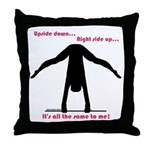 Gymnastics Throw Pillow UD