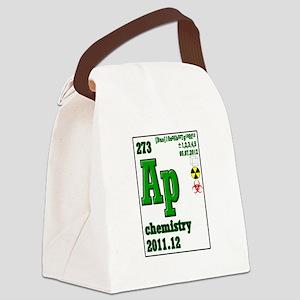 AP chem element symbol 2012 Canvas Lunch Bag