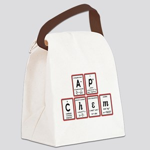 apchem symbols Canvas Lunch Bag