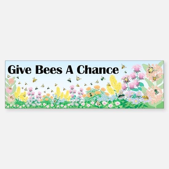 virginia pollinator Sticker (Bumper)