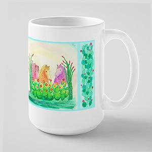 Curly Mares in Cactus Mug