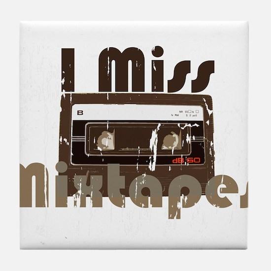 Mix tape Tile Coaster