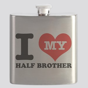 I Love My Half Brother Flask