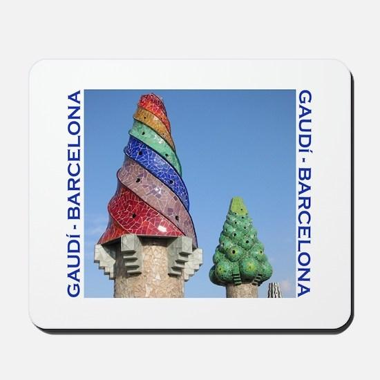 Gaudi Barcelona Mousepad