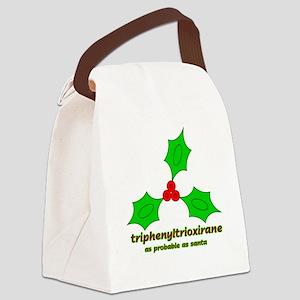 triphenyltrioxirane2 Canvas Lunch Bag