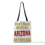 Arizona Baseball Polyester Tote Bag