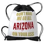 Arizona Baseball Drawstring Bag