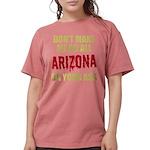 Arizona Baseball Womens Comfort Colors Shirt