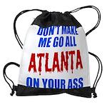 Atlanta Baseball Drawstring Bag