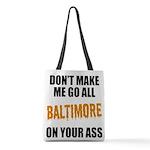 Baltimore Baseball Polyester Tote Bag