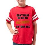 Baltimore Baseball Youth Football Shirt
