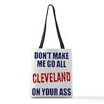 Cleveland Baseball Polyester Tote Bag