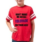 Colorado Baseball Youth Football Shirt