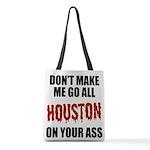 Houston Baseball Polyester Tote Bag