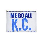 Kansas City Baseball Makeup Pouch