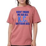 Kansas City Baseball Womens Comfort Colors Shirt