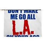 Los Angeles Baseball Makeup Pouch