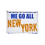 New York Baseball Makeup Pouch