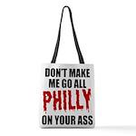 Philadelphia Baseball Polyester Tote Bag