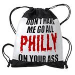 Philadelphia Baseball Drawstring Bag