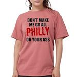 Philadelphia Baseball Womens Comfort Colors Shirt