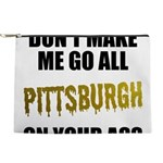 Pittsburgh Baseball Makeup Pouch