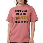 Pittsburgh Baseball Womens Comfort Colors Shirt