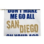 San Diego Baseball Makeup Pouch