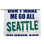 Seattle Baseball Makeup Pouch