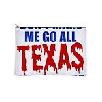 Texas Baseball Makeup Pouch