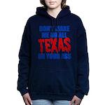 Texas Baseball Women's Hooded Sweatshirt