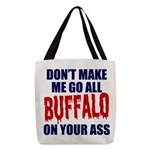 Buffalo Football Polyester Tote Bag
