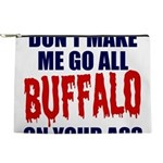 Buffalo Football Makeup Pouch