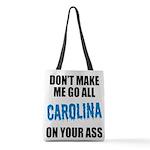 Carolina Football Polyester Tote Bag